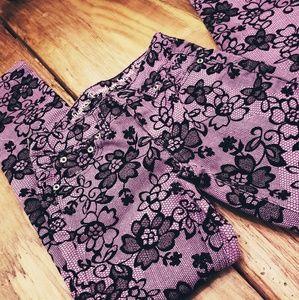 New! Justice Premium purple skinny jeans